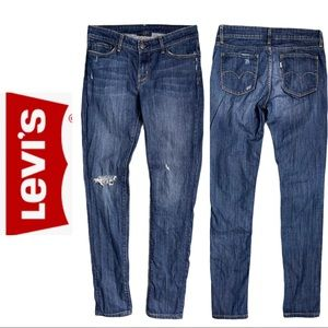 Levi's Eco 631 Very Low Skinny Jeans Distressed